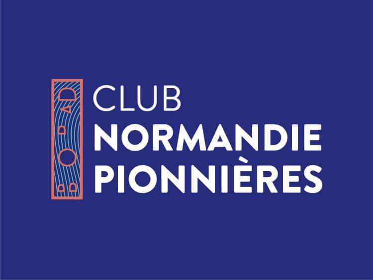 Club normandie pionnières - le logo