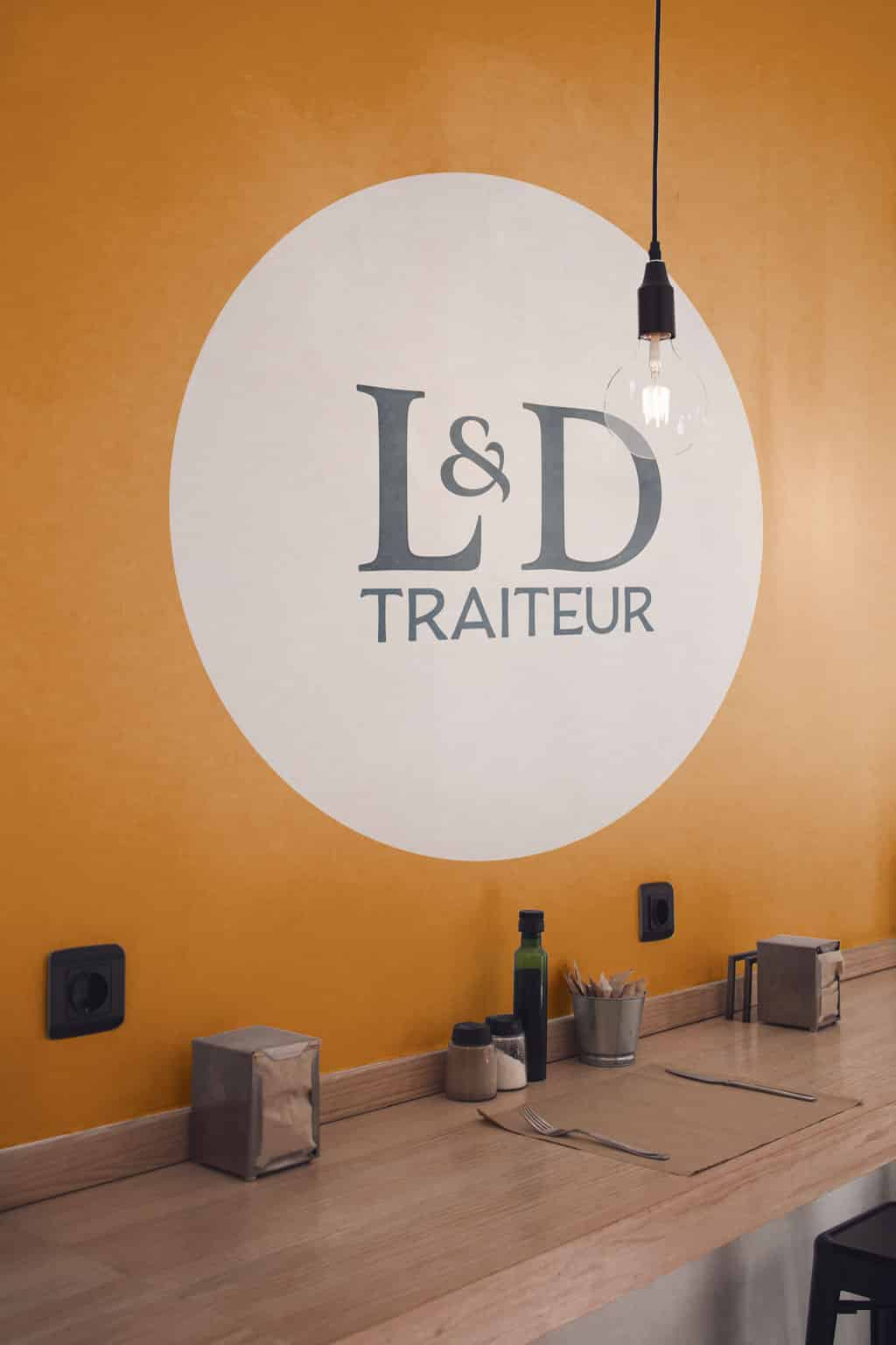 L et D traiteurs intérieur boutique