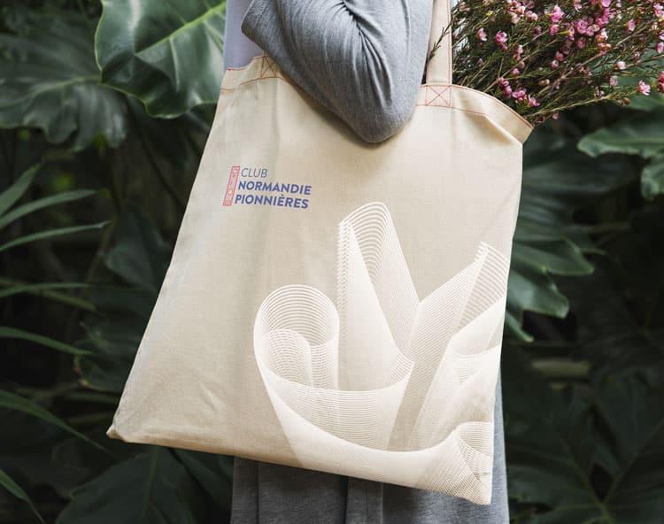 Tote Bag Club Normandie Pionnières
